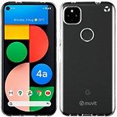 Coque Muvit Google Pixel 4a 5G Souple transparent