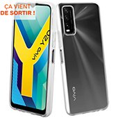 Coque Muvit Vivo Y20/20s Souple transparent