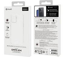Coque Muvit  Oppo A94 Souple transparent