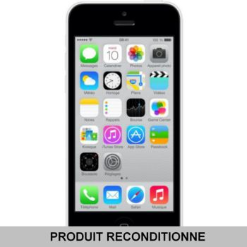 Apple iPhone 5C 16 Go Blanc Grade A+ 				 			 			 			 				reconditionné