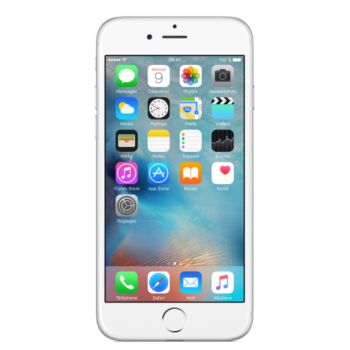 Apple iPhone 6 Silver 128Go 				 			 			 			 				reconditionné