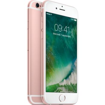 Apple iPhone 6s Rose 128Go 				 			 			 			 				reconditionné