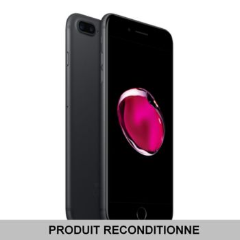 Apple iPhone 7 Plus Noir 32Go reconditionne 				 			 			 			 				reconditionné