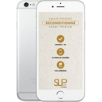 Apple iPhone 6s Argent 16Go Reconditionné 				 			 			 			 				reconditionné