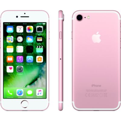 Location Apple - iPhone reconditionné iPhone 7 Rose 32 Go Grade A+