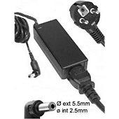 Chargeur ordinateur portable E-Force pour TOSHIBA NB100-12N