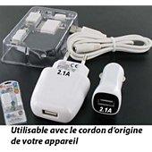 Chargeur secteur E-Force pour SAMSUNG Galaxy Tab 3 Plus 10.1