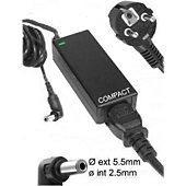 Chargeur ordinateur portable E-Force pour TOSHIBA NB550 / NB555