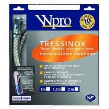 Wpro Tuyau de gaz TRESSINOX butane propane lo