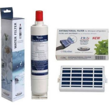 Whirlpool Pack 1 filtre MICROBAN 481248048172 + 1