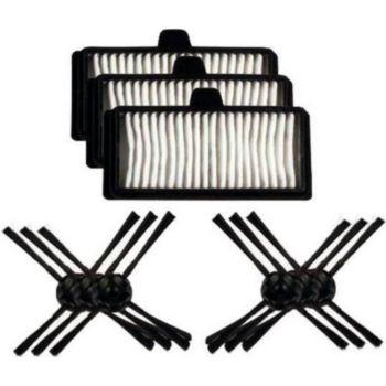 LG Kit MRK03 : 3 filtres hepa + 6 brosses l