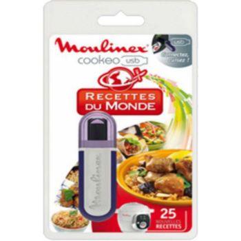 Moulinex Cookeo clé usb 25 recettes du monde XA60