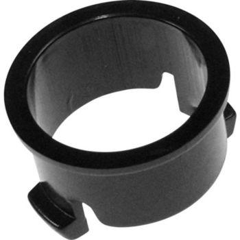 Scholtes Collerette bouton poussoir noir C0009739