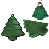 Moule à gâteau fantaisie The Home Deco Factor silicone sapin vert
