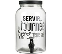 Fontaine Totally Addict  a boisson bistrot creme 3.5 L