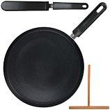 Set d'ustensiles de cuisine Lily Cook  crepiere noire induction 28cm usten