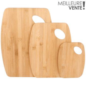 Cook Concept a decouper en bambou x3