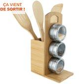 POT Cook Concept set de 3  en bambou et porte epices