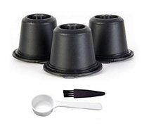 Capsule réutilisable Cook Concept  reutilisable compatible nespresso X3