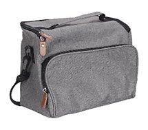 Lunch bag Cook Concept  gris zippe 25.4x20.3x12.7cm m6