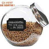 Etiquettes de cuisine Cook Concept bocaux x24