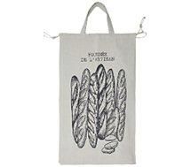 Sac à pain Cook Concept  a pain en toile xxl 70x40x20cm