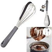 Fouet Lilly Cook 2 en 1 spatule integree m24