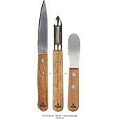 Coffret couteau Cook Concept econome et couteau a beurre m48