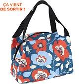 Lunch bag Cook Concept flowers 17x17x24cm m12