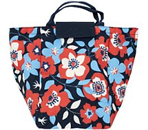 Lunch bag Cook Concept  sac a main flowers m18