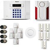 Alarme maison Tike Securite DNB26 - Compatible Box internet