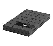Boitier disque dur WE  2.5'' V3 Chocolat