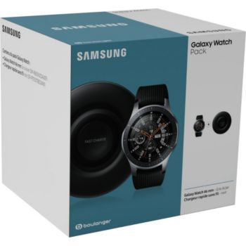 Samsung Pack Galaxy Watch 46mm + PAD