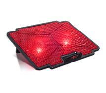 Support PC Spirit Of Gamer  ventilé 15,6'' AIRBLADE 100 Rouge