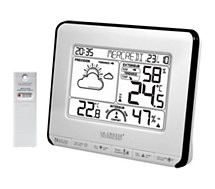 Station météo La Crosse  WS6818 Blanc/Noir