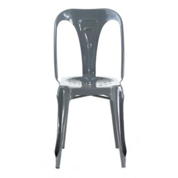 . Chaise Indus-cha09 métal brillant