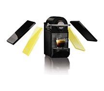 Nespresso Krups Pixie Clip noir-jaune YY1206FD