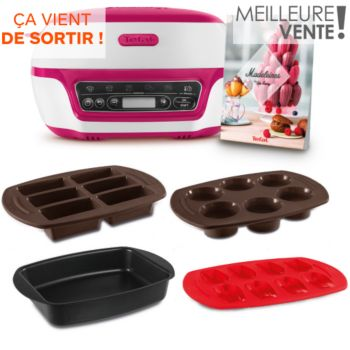 Tefal Cake Factory YY4170 + Moule à madeleines