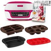 Machine à gâteaux Tefal Cake Factory YY4170 + Moule à madeleines