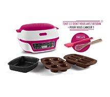 Appareil à cake Tefal  Cake Factory Starter Kit Y4377FB