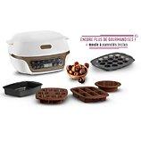 Machine à gâteaux Tefal  Cake Factory YY4391FB + moule cannelés