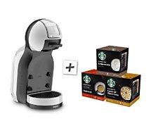 Distributeur de boisson Krups  MINI ME YY4497FD GRIS + CAFE STARBUCK X3