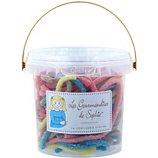 Bonbons Gourmandises Sophie  Seau Lacets citriques et multicolores