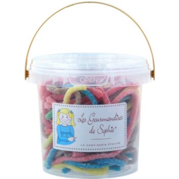 Gourmandises Sophie Seau Lacets citriques et multicolores