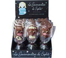 Bonbons Gourmandises Sophie  sucette chocolat animaux de la ferme