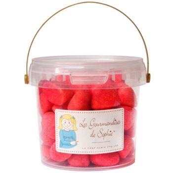 Gourmandises Sophie Seau fraises gelifiees