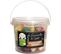 Bonbons Gourmandises Sophie  Mini seau Impulse Berlingots rayes