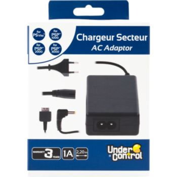 Under Control Chargeur PS Vita - PSP