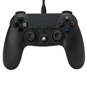 Under Control Manette PS4 Filaire Noire
