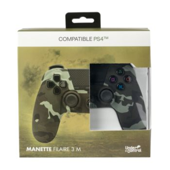 Under Control Manette PS4 Filaire Camouflage